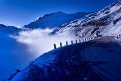 A estrada do jokul Imagem de Stock Royalty Free
