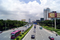 estrada do nacional 107 Fotografia de Stock