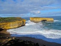 Estrada do oceano de Austrália grande Foto de Stock