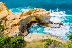 Estrada do oceano do arco grande Fotografia de Stock Royalty Free