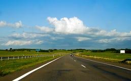 Estrada do país Fotos de Stock