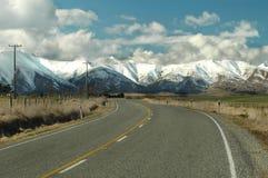 Estrada do país Fotos de Stock Royalty Free