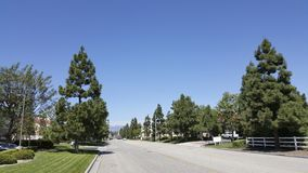 Estrada do rancho de Camarillo, CA Fotos de Stock Royalty Free
