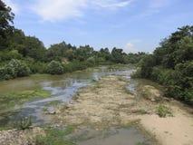 Estrada do rio Fotografia de Stock