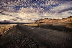 Estrada do solitário Fotos de Stock