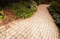 Estrada do tijolo Imagem de Stock Royalty Free