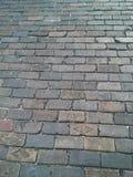 Estrada do tijolo vermelho Foto de Stock Royalty Free