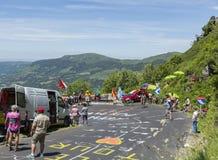A estrada do Tour de France - 2016 Imagens de Stock Royalty Free