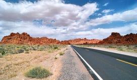 Estrada do vale Fotos de Stock