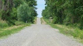Estrada do verão Foto de Stock Royalty Free