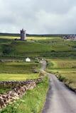 Estrada a Doonagore Fotografia de Stock