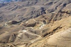 Estrada dos reis - Jordão Foto de Stock Royalty Free