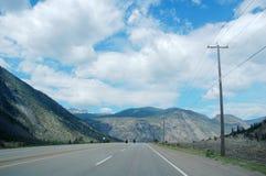 Estrada e céu Fotografia de Stock Royalty Free