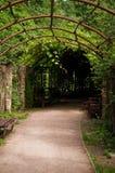 Estrada e parque Fotografia de Stock Royalty Free