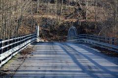 Estrada e ponte velha Imagens de Stock Royalty Free