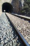 Estrada e túnel railway imagem de stock royalty free