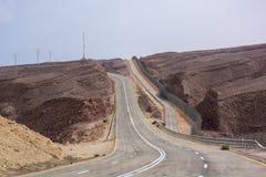 Estrada a Eilat Israel Imagem de Stock
