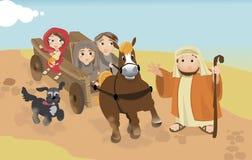 Estrada a Elizabeth ilustração royalty free