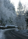 Estrada em Áustria imagens de stock