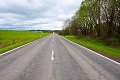Estrada em Bélgica Foto de Stock