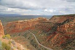 Estrada em Colorado nanômetro imagens de stock royalty free