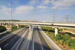 Estrada em dois sentidos. Imagem de Stock