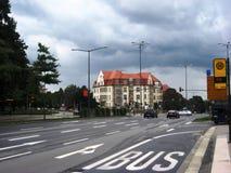 Estrada em Dresden Foto de Stock Royalty Free