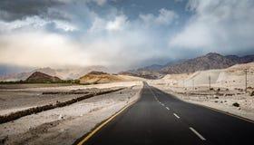 Estrada em Ladakh Fotografia de Stock Royalty Free