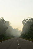Estrada em Mersing Imagens de Stock