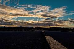 Estrada em Oregon Fotografia de Stock