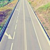 Estrada em Portugal Imagem de Stock