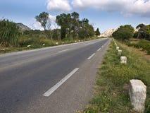 Estrada em Provence imagem de stock royalty free