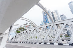 Estrada em singapore Imagens de Stock