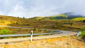 Estrada em Spain Imagem de Stock