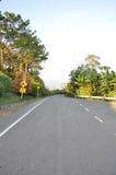 Estrada em Tailândia Imagem de Stock Royalty Free