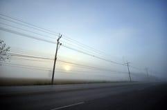 Estrada em Tailândia Imagens de Stock