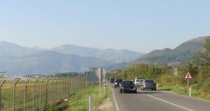 Estrada entre Budva e Tivat filme