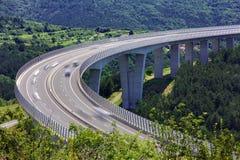 Estrada eslovena Fotos de Stock Royalty Free