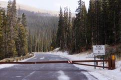 Estrada fechado Imagens de Stock