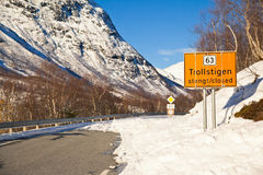 Estrada fechado fotografia de stock
