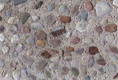 Estrada feita de pedras da cor Imagens de Stock Royalty Free