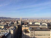 Estrada gótico Wien da catedral Imagem de Stock Royalty Free