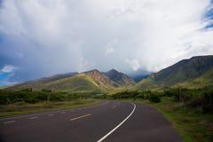Estrada havaiana Imagem de Stock