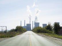 Estrada industrial Fotos de Stock