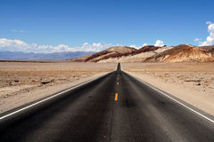 Estrada infinita Foto de Stock Royalty Free