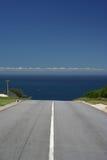 Estrada infinita Foto de Stock