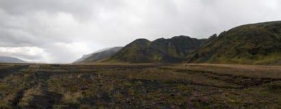 Estrada islandêsa imagens de stock