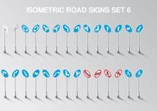 A estrada isométrica do vetor canta o grupo para nosso próprio cidade ou infographics ilustração royalty free