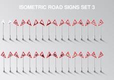 A estrada isométrica do vetor canta o grupo para nosso próprio cidade ou infographics Foto de Stock Royalty Free