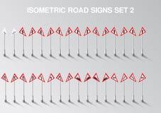 A estrada isométrica do vetor canta o grupo para nosso próprio cidade ou infographics Imagem de Stock Royalty Free